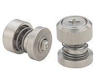 Low profile knob, spring-loaded - PF50, PF60