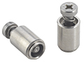 Captive panel screw-Tool only, non flush, spring-loaded - PFC2P Metric only