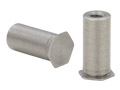 "Threaded Standoffs for Installation Into Ultra-Thin Stainless Steel Sheets as Thin as .025"" - Types TSO4 - Unified"