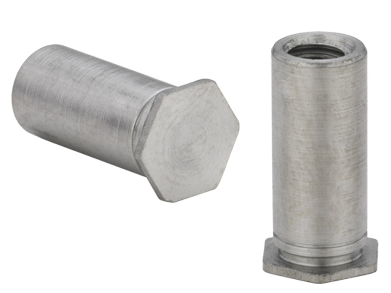 Type BSO4 BSO4-M5-10 Metric Pem Blind Threaded Standoffs for Installation into Stainless Steel