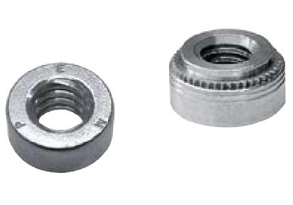 S-0616-1ZI Penn Engineering Self-Clinching Pem Nuts Heat Treated Carbon Steel Hole Size in Sheet .500 in Types S Thread Code 0616 Thread Size.375-16 Zinc Plated Finish, 3//8-16 Quantity 1000