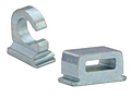 Cable tie-mounts and hooks for sheet metal