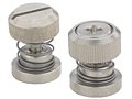 Low profile knob, spring-loaded - PF30, PF31, PF32, PF50, PF60