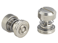 Low profile knob, spring-loaded - PF30, PF31, PF32 Metric only